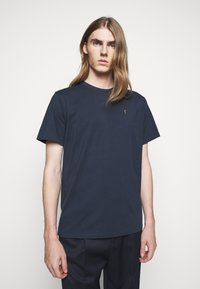 forét - POINT - Print T-shirt - navy - 0