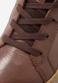 Birkenstock - PORTO - High-top trainers - brown - 2