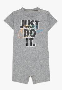 Nike Sportswear - ROMPER BABY - Jumpsuit - grey heather - 0