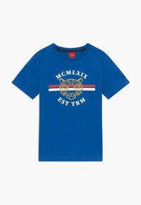 s.Oliver - KURZARM - T-shirt z nadrukiem - blue - 0