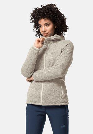 LAKELAND - Fleece jacket - white sand