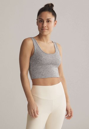 Sports bra - light grey