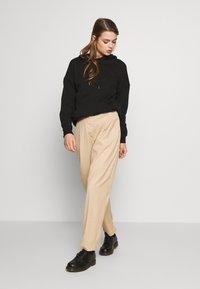 Weekday - TROUSER - Kalhoty - beige - 1