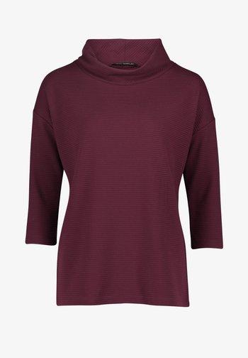 MIT 3/4 ARM - Sweatshirt - dark aubergine
