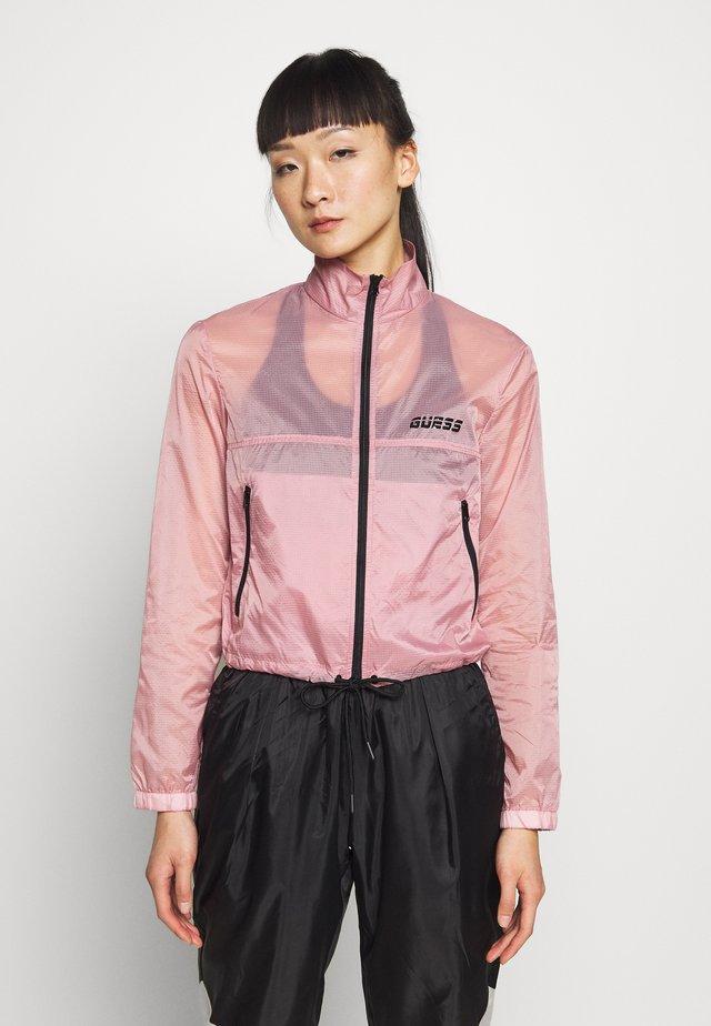 CROPPED - Windbreaker - pink