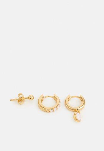 EAR PARTY 3 PACK - Korvakorut - pale gold-coloured