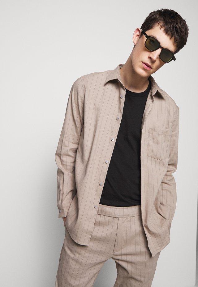 NOLL ALARO STRIPE - Shirt - beige/stone