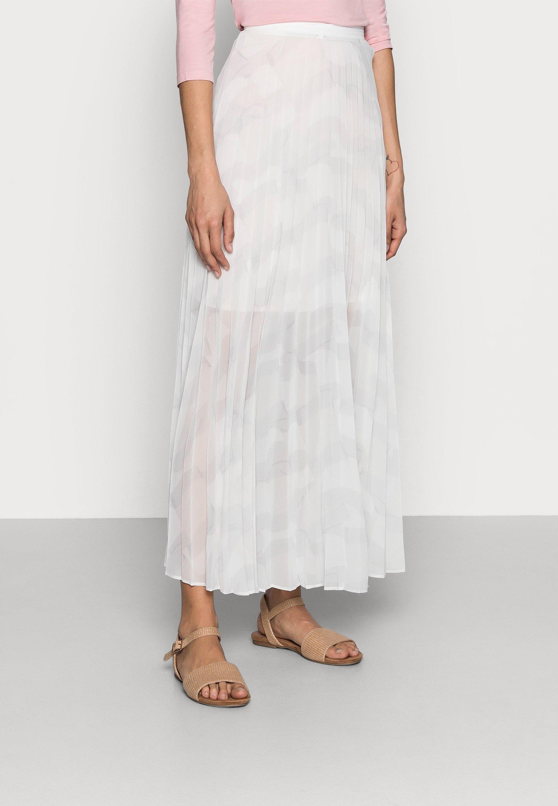Women ICON PLEATED LONG SKIRT - Maxi skirt