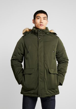 OUTERWEAR - Parka - forest night green