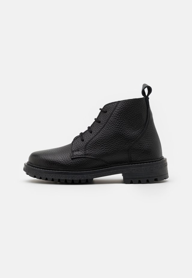 OCHA UNISEX - Bottines à lacets - black