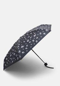 KARL LAGERFELD - IKONIK UMBRELLA - Deštník - black - 1
