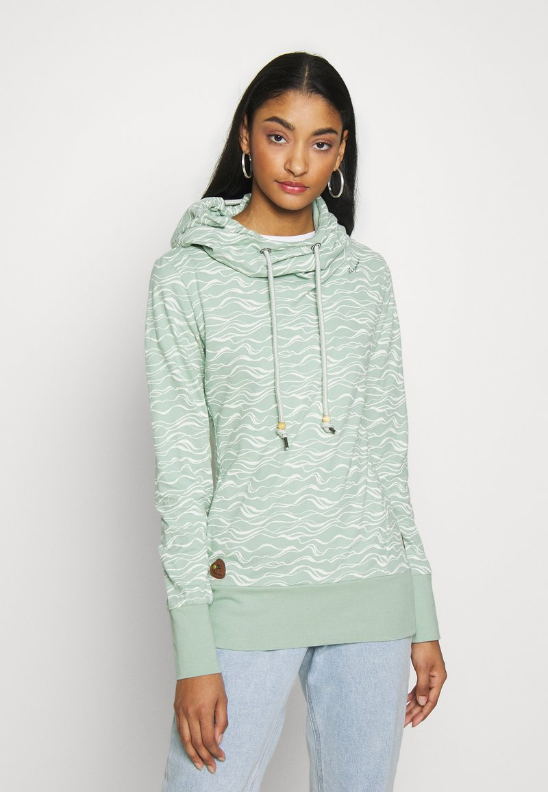 Ragwear - YODA ORGANIC - Sweat à capuche - dusty green