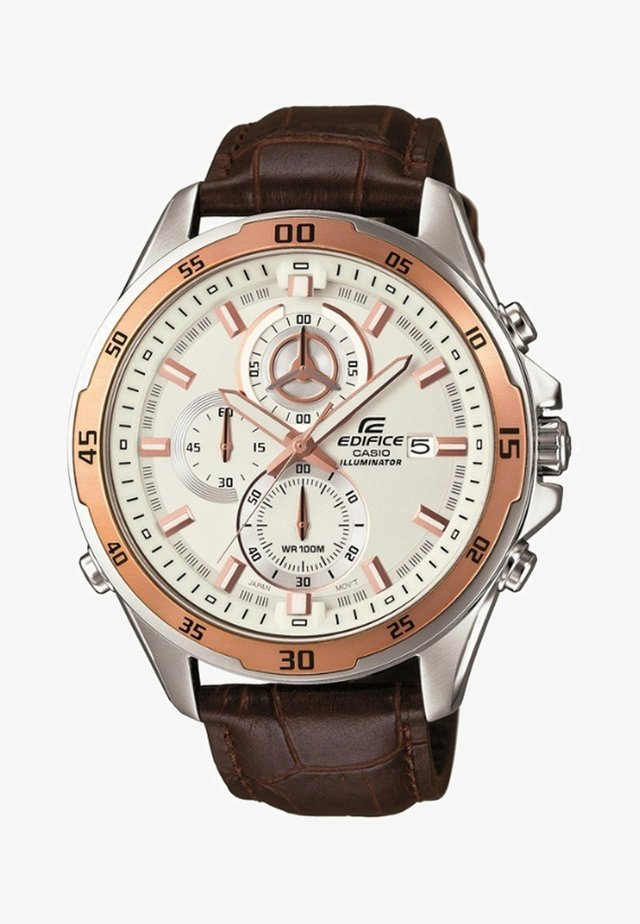 EDIFICE - Chronograph watch - zilver