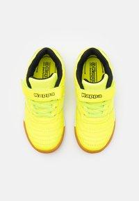 Kappa - DAMBA UNISEX - Sports shoes - yellow/black - 3