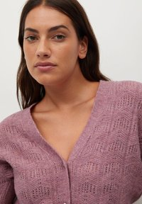 Violeta by Mango - JEWERLY - Cardigan - rosa - 3