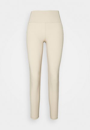 CASSIE HIGHWAIST - Pyjama bottoms - oxford tan