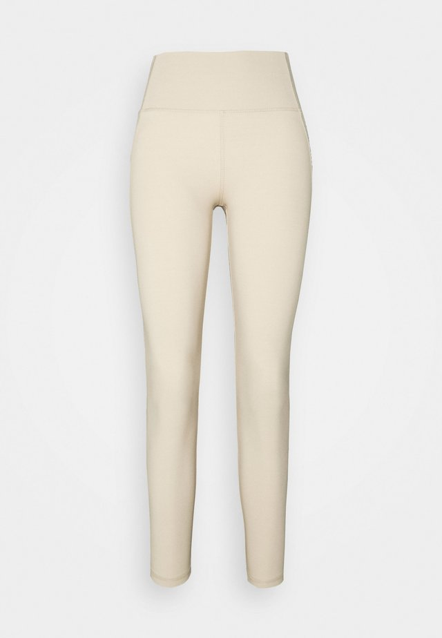 CASSIE HIGHWAIST - Pyjamabroek - oxford tan