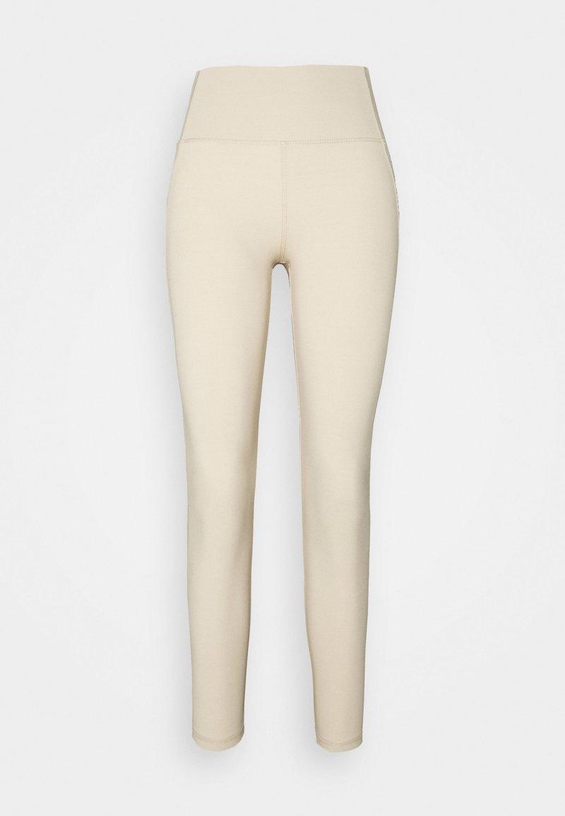 Gina Tricot - CASSIE HIGHWAIST - Pyjama bottoms - oxford tan