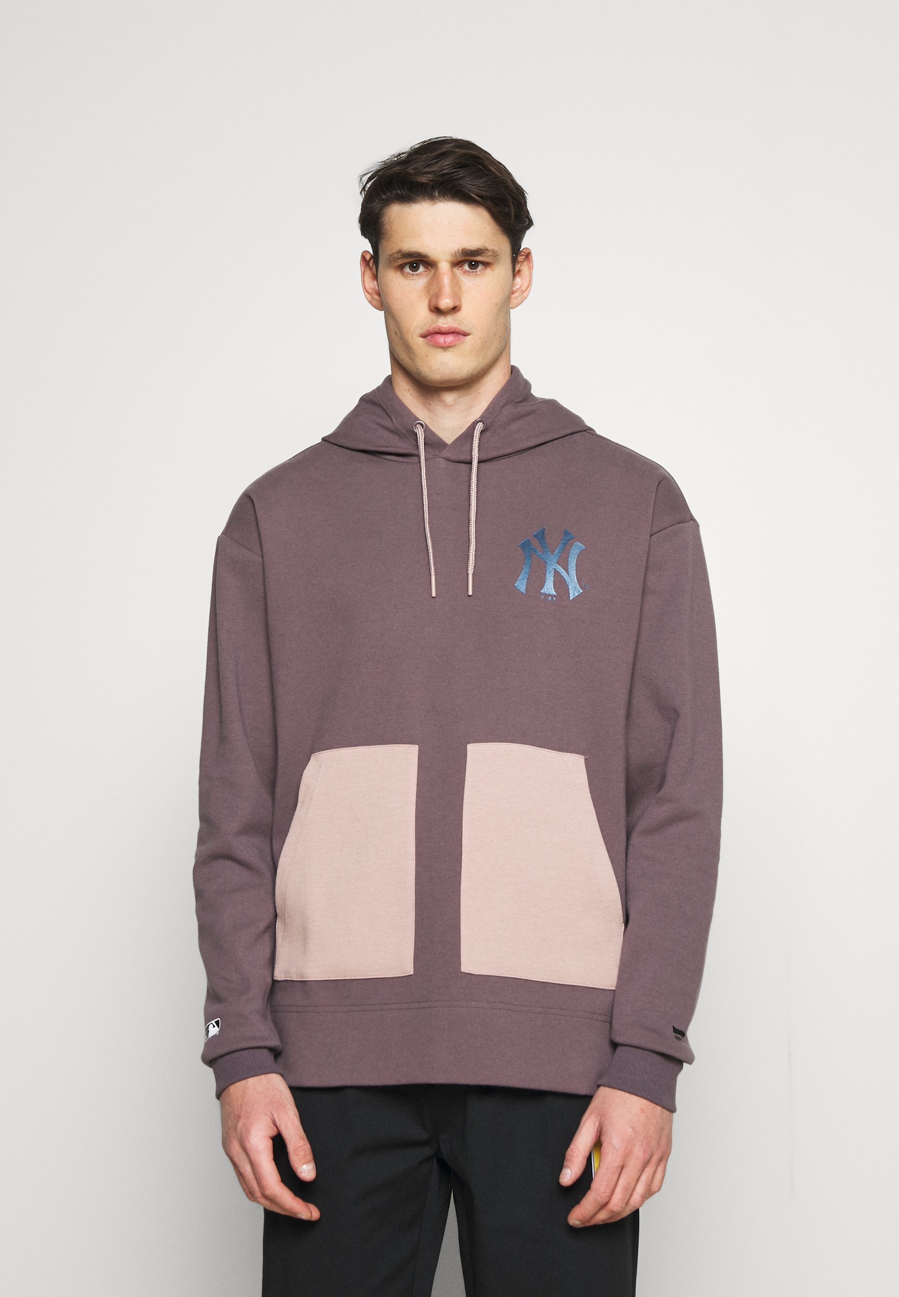Men MLB NEW YORK YANKEES DIFFUSION OVERHEAD HOODIE - Sweatshirt