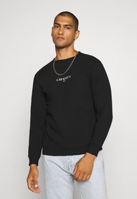 Be Edgy - WILLY - Sweatshirt - black - 0