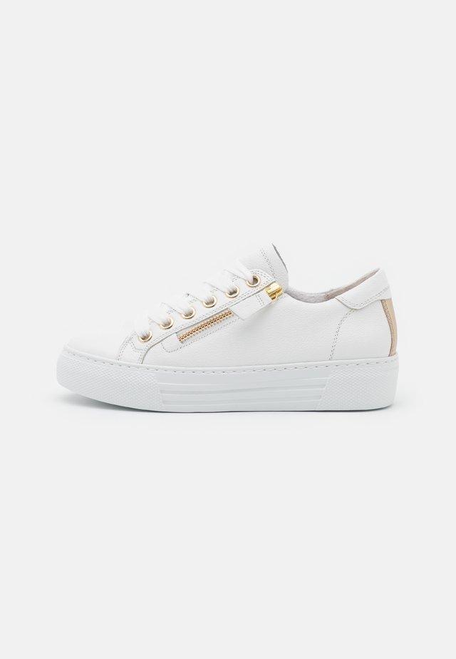 Sneakers - weiß/platino