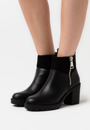 ONLBARBARA ZIP - Ankle boot - black