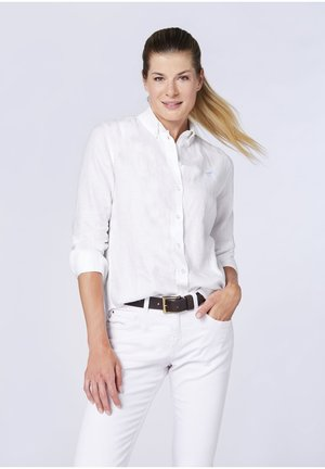 REGULAR FIT - Button-down blouse -  bright white
