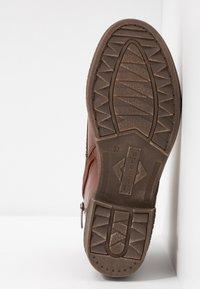 Tamaris - Lace-up ankle boots - cognac - 6