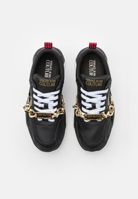 Versace Jeans Couture - Sneakers basse - black/gold - 3