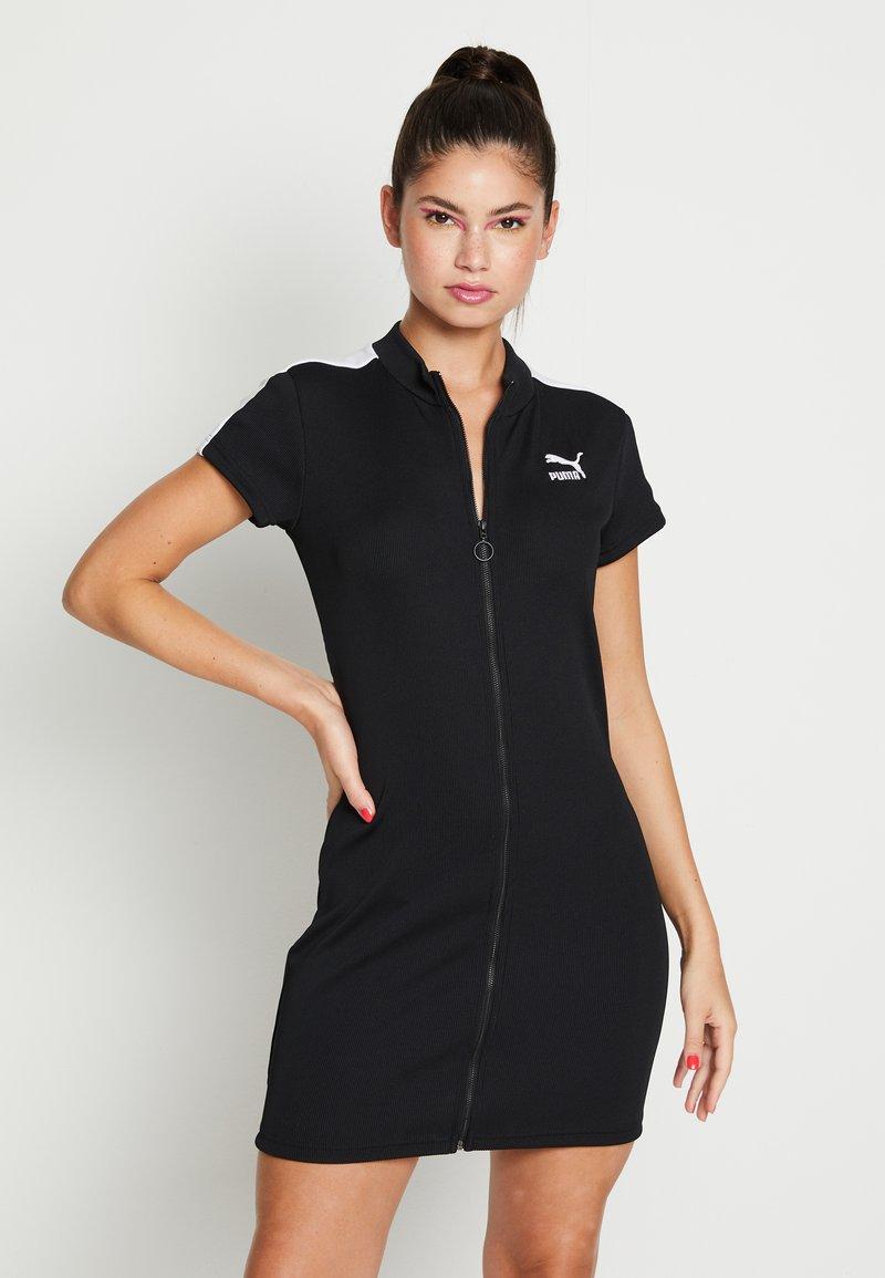 Puma - CLASSICS TIGHT DRESS - Day dress - black