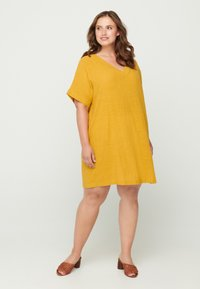 Zizzi - Tunic - yellow - 0