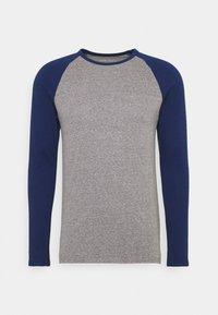 Pier One - Long sleeved top - mottled grey - 4