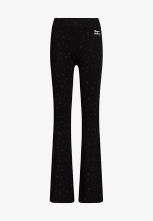 MET LUIPAARDDESSIN - Trousers - black