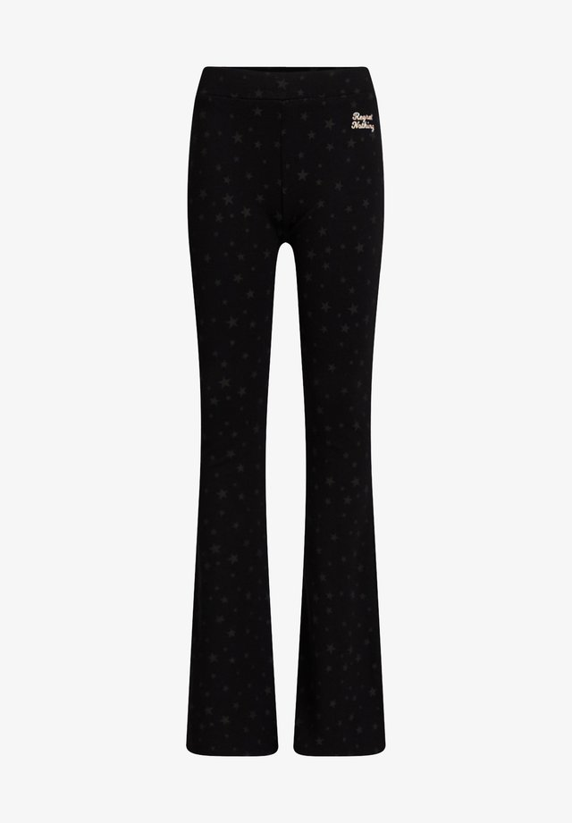 MET LUIPAARDDESSIN - Pantaloni - black