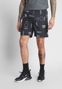Vans - DISTORTION - Shorts - black distortion - 0