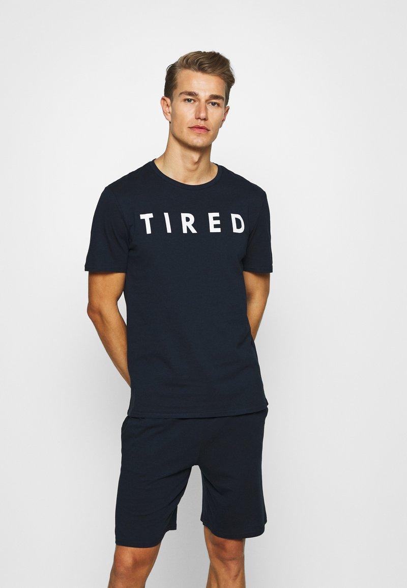 Pier One - Pyjama set - dark blue