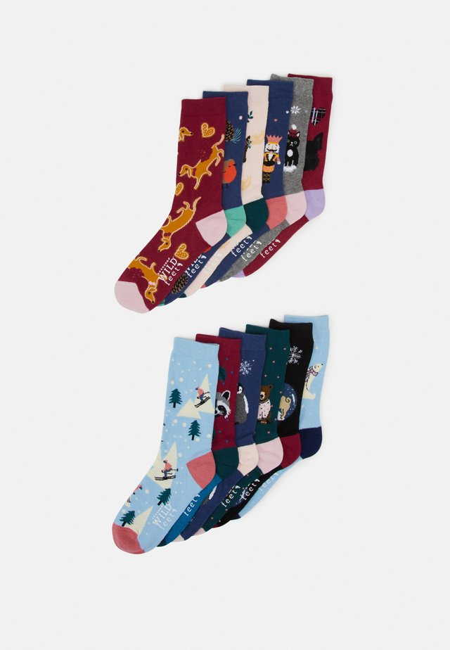 SOCK ADVENT CALENDAR 12 PACK - Chaussettes - multi-coloured