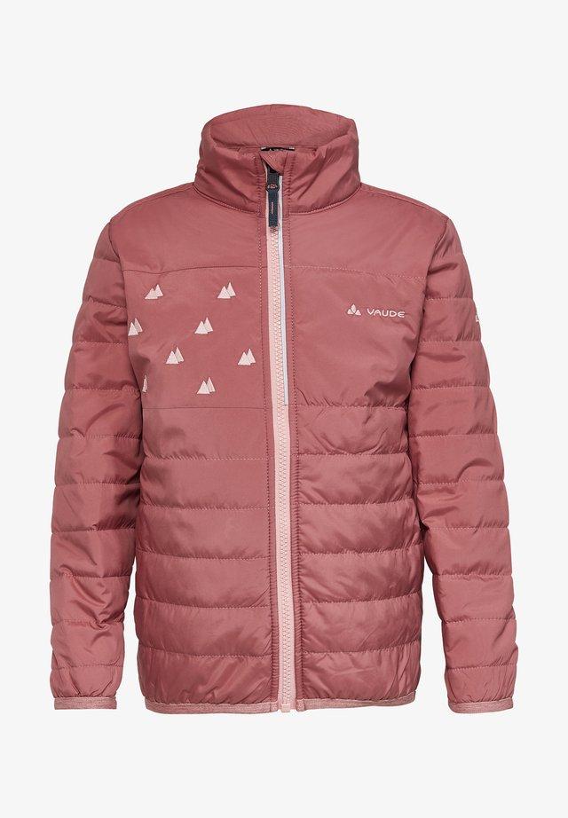 Light jacket - dusty rose