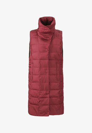 Waistcoat - velvet red