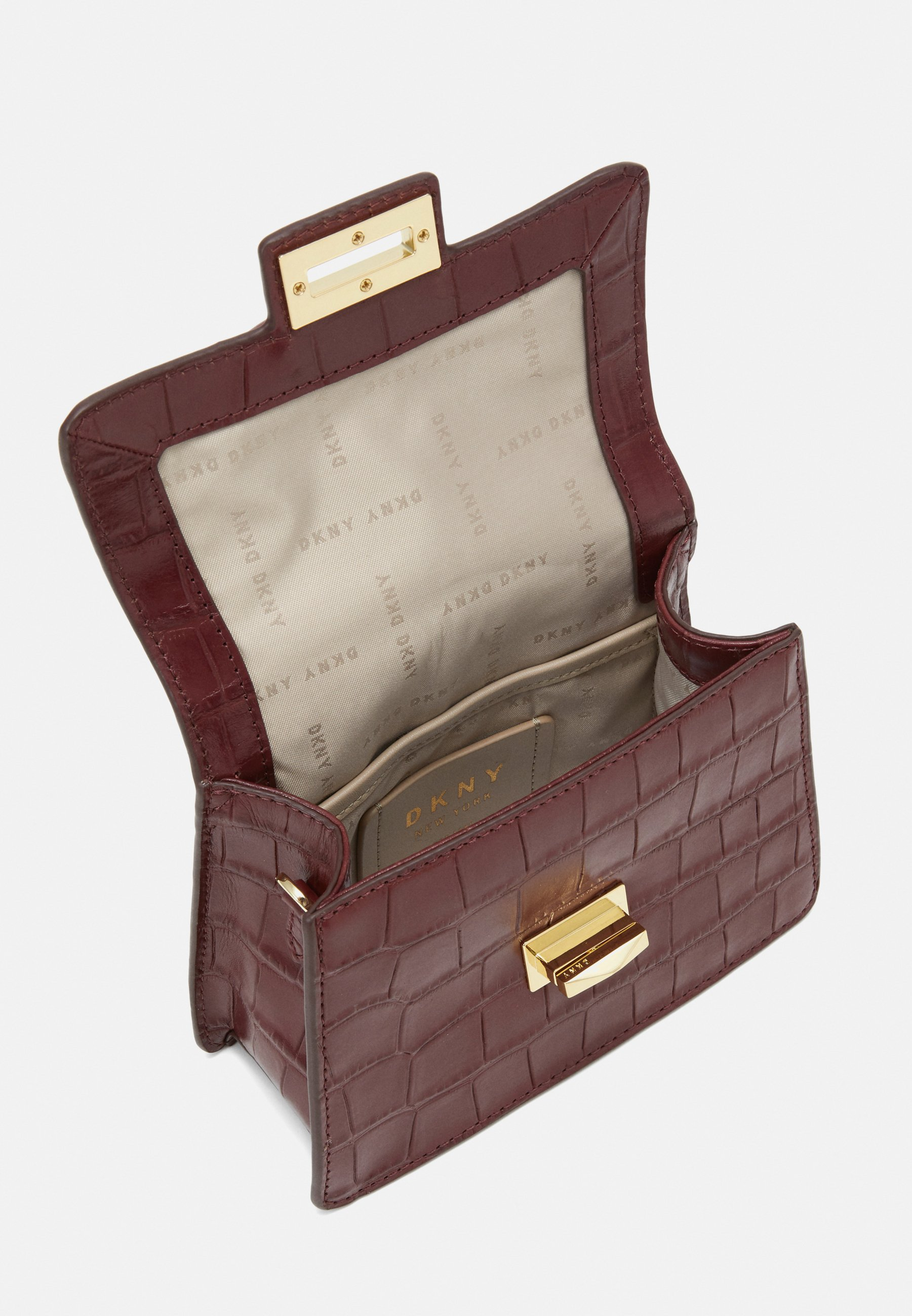 Dkny Jojo Mini Satchel - Handtasche Aged Wine/bordeaux