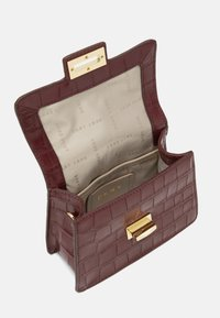 DKNY - JOJO MINI SATCHEL - Handbag - aged wine - 2