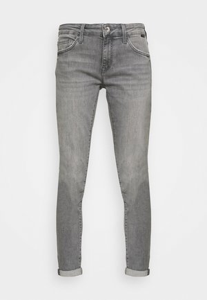 LEXY - Slim fit jeans - light grey