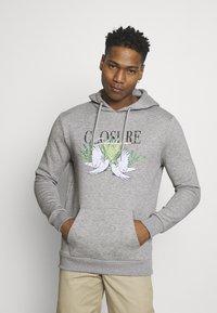 CLOSURE London - TAKE FLIGHT HOODY - Hoodie - grey - 0
