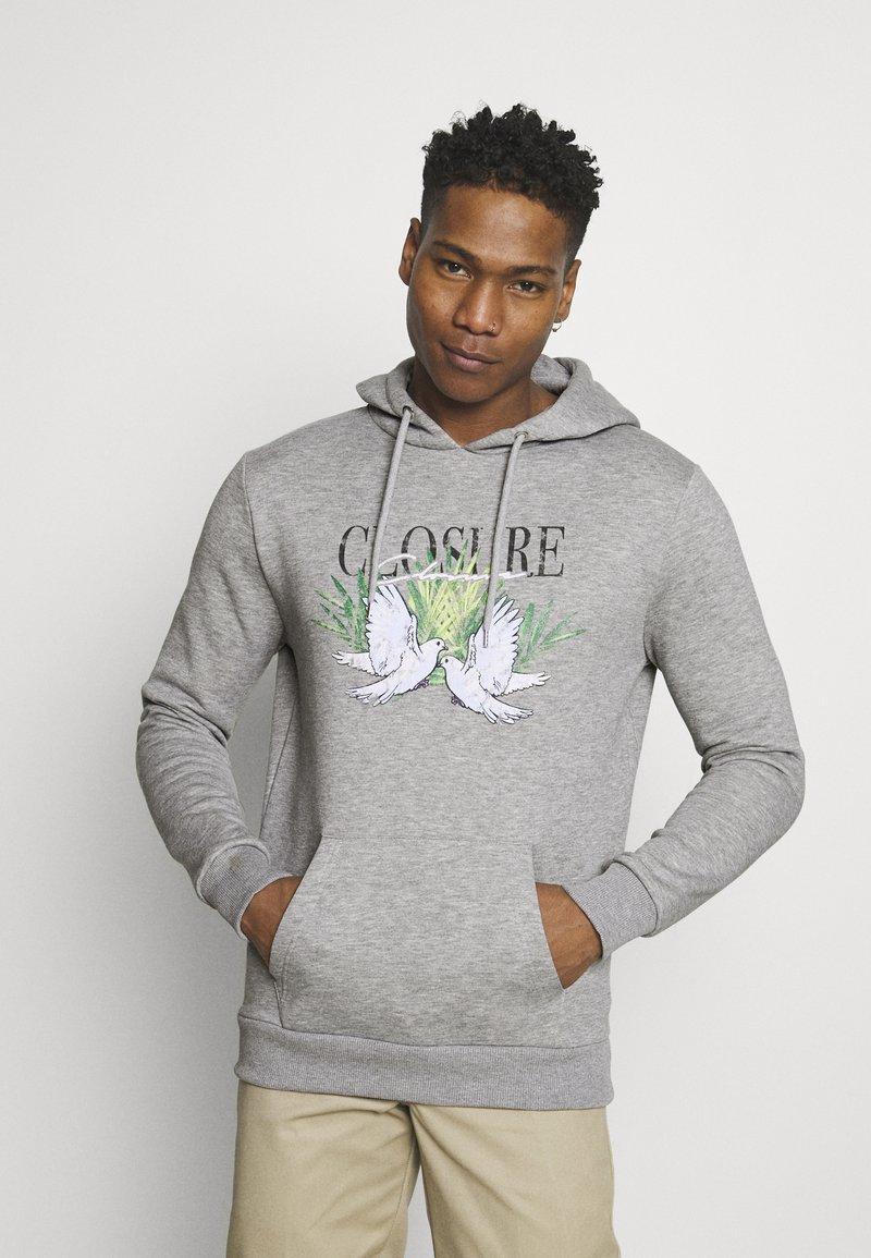 CLOSURE London - TAKE FLIGHT HOODY - Hoodie - grey