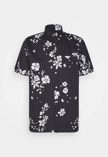 Camisa - navy floral