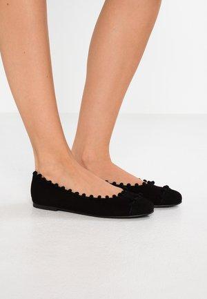 ANGELIS - Ballet pumps - black