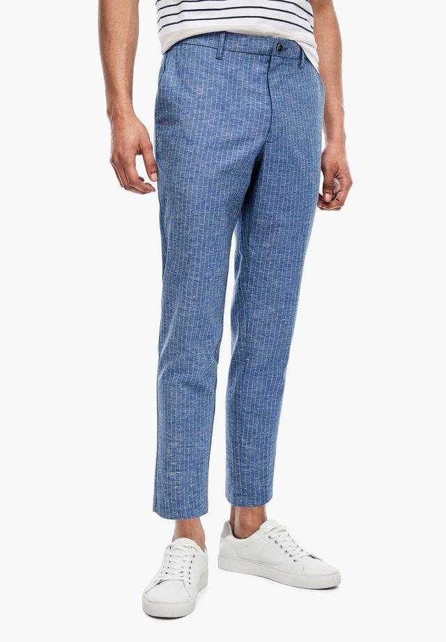 Pantalon classique - blue pin stripes