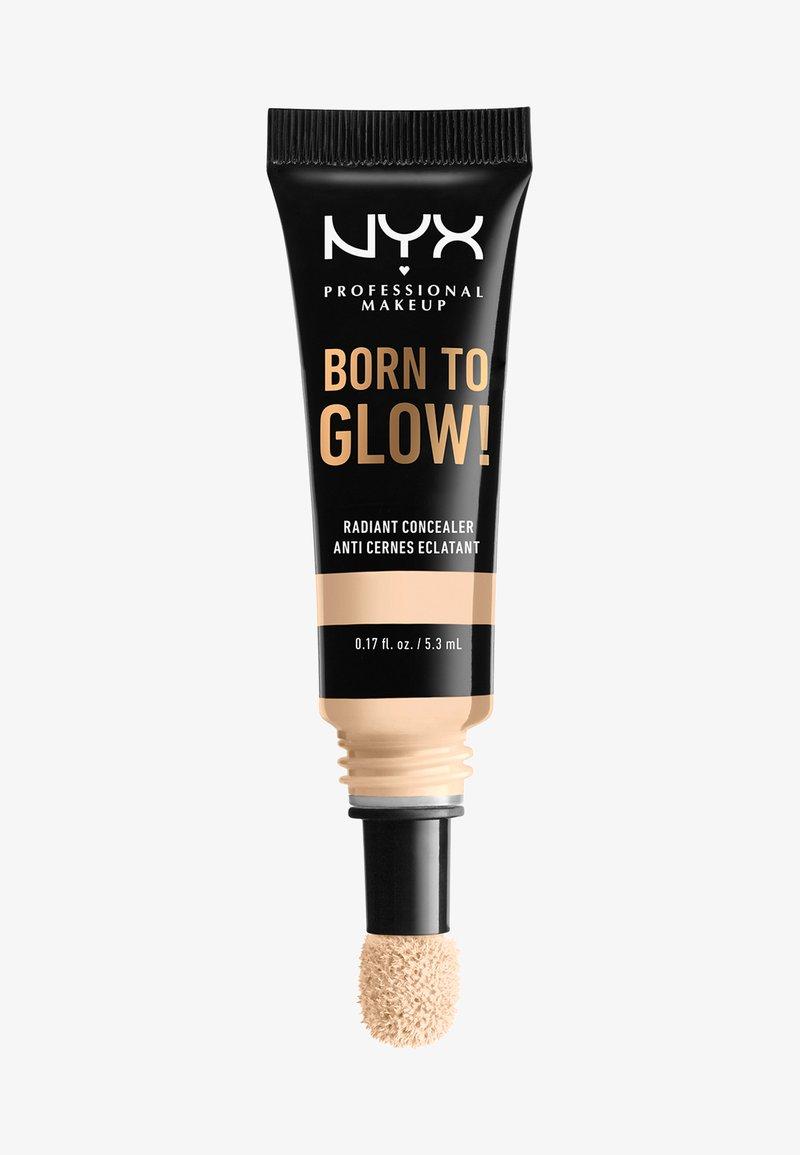 Nyx Professional Makeup - BORN TO GLOW RADIANT CONCEALER - Concealer - 01 pale