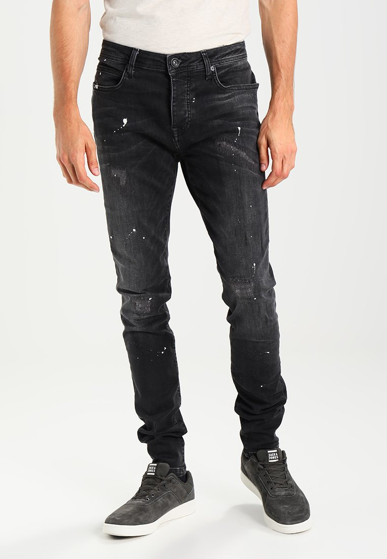 Cars Jeans - CAVIN - Slim fit jeans - black used