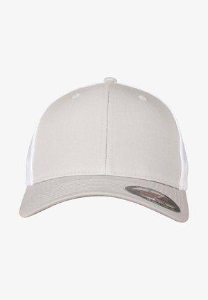 2-TONE - Cap - silver/wht